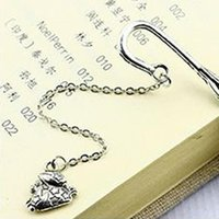 Bookmark Creative Feather 12 Constellation Pendant Metal Book Mark Stationery