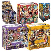 New 100-180pcs Japanese Anime Luffy Zoro Nami Usopp FRANKY Collections Card Game Battle Carte Trading Children Toy Gifts X0925