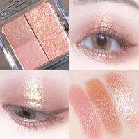 Maquiagem Shimmer Eyeshadow Palette 3 Cores Smoky Cosméticos Profissional Natural Matte Eye Shadow Sleek Glitter Make Up