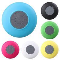 Mini Bluetooth Hoparlör Taşınabilir Su Geçirmez Kablosuz Handsfree Hoparlör Vantuz Duşlar Banyo Havuzu Araba MP3 Müzik Çalar Hoparlör