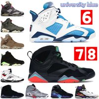 Nuove scarpe da basket 6 6s Jumpman uomo oregon ducks nero bianco quai54 sail brown travis scotts DMP Hare uomo sneakers sportive