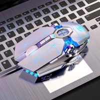 Silent Gaming Mouse Wired 3200DPI LED Backlit USB Optical Ergonomic PC Gamer Computer For Laptop Games Mice