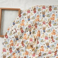 Blankets & Swaddling Happy Flute Muslin Cotton Baby Swaddles Soft Born Bath Gauze Infant Wrap Sleepsack Strolle Cover Comfortable Blanket