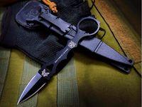 BM173 173BK D2 Düz Bıçak Sabit Bıçak Kolu Katlanır EDC Kamp Survival Katlanır Hediye Bıçağı