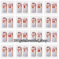 Custom Men Basketball Trae Young Jersey 8 Danilo Gallinari 22 Cam Reddish 7 Rajon Rondo Women Kids 2020-21 White Association Jersey