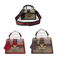 Hohe Qualität 2021 Frauen Luxurys Designer Taschen Messenger Bag Frau Totes Mode Dame Handtaschen Vintage Druck Schulter Klassische Crossbody G8