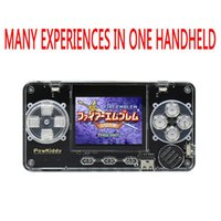 2,0 pollici IPS LCD Built-in 4000 giochi Palmare Retro Game Console Powkiddy A66 Portatile Mini Pocket Pocket Leder Players Accessori