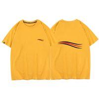 Summer Mens femmes luxurys designers t-shirts T-shirt Chemises décontractées Ticking Hommes S Motif Vêtements T-shirts imprimés Tops avec usure de marque