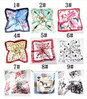 Летние осень и зимние шарфы, женский имитация, универсальная, профессиональная небольшая площадь, производители оптом, Ханчжоу шелк, шарф