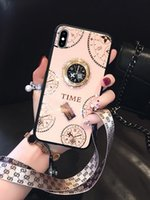 Card Holders Silicone Xs xr Diamond Suitable For IPhone 12 Mobile Phone Case 11pro With 7 8plus Clock Trendy Female