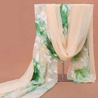 Sciarpe di chiffon DesignerNew di alta qualità per le donne in primavera