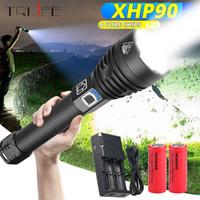 XHP90 PIÙ potente torcia Torcia XHP50 USB Zoom LED Torch XHP70.2 Luci tattiche 18650 26650 Caccia Xlamp Autodifesa 201204