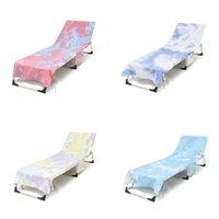 Chaise de plage Chaises de teinture Couverture Couverture Absorbant et rapide Séchage Plages Serviette Piscine Lounge Style HH21-291