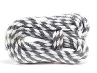 Fábrica de ventas directa de seguridad de seguridad Diámetro de la cuerda de 10 mm de longitud de 20 m de fibra de poliéster negro blanco para escalar accesorios de engranajes al aire libre