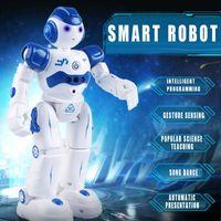 Drones rc robot intelligent multifonctions chargant jouet pour enfants danse danse temande de contrôle à distance