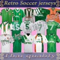 Repubblica d'Irlanda Retro Vintage 1988 1990 1992 1994 1995 Irlanda Soccer Jersey Camicia calcio Nazionale 90 Coppa del Mondo del Mondo Irlanda del Nord 1993 Kit