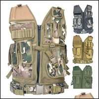Jackets Hunting Wear Athletic Outdoor Apparel Sports & Outdoors2021 Plate Carrier Holster Molle Assat Combat Gear~ The Cam Tactical Vest Is