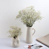 80g / monte colorido real preservada flores gypsophila decor lar caseiro buquê de casamento dia de mães artesanato natural seco flor decorativa wreat
