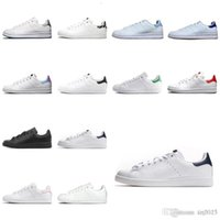 Botas Mujeres Hombres Moda Zapato Stan Smith Sneakers Cuero Classic Flats Zapatos Casuales Tamaño US 5-10 D1-H92 1