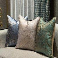Coussin / Oreiller décoratif Entrée de la taille luxueuse Coussin artistique simple avec un coussinet de chaise de taudon 40x60cm