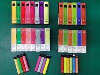 Puff Bar Plus Disposable E cigarette 800 Puffs Vape Pen 3.2ml pods Cartridge 550mAh Battery Starter Kit Pre-filled 5% Vapes With 74 Colors