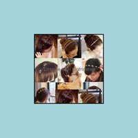 Herramientas ProductosColorf Rhinestone Flower Hoja Hoop Diadema Hairband Para Mujeres Niñas Bebé Bisel Aesoraciones Para El Pelo Entrega De Drop 2021 YKR9M
