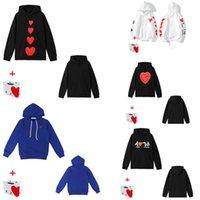 Мужские толстовки пуловера свитер мода любовь вышивка свободные мужчины и женщины пары высококачественные 0101
