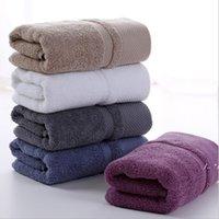 Reines Baumwoll-festes Handtuch verdicktes Gesicht Textilien für Erwachsene Terry Handsack-Waschschnitt langer Heftklammer-Absorptionsmittel weiche FWE5388