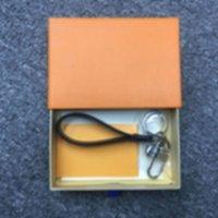 Tasarımcı Anahtarlık L Mektup Deri Araba Moda Anahtarlık Kordon Lüks Sevimli Cüzdan Halat Porchiavi Kutusu HDFJ Ile
