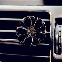 Clip per il profumo dell'automobile Home Diffusore di olio essenziale per auto outlet medaglione clip fiore Auto Air Deodorante Condizionamento di condizionamento Vent clip FAD11174