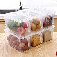 Saklama Kutuları Bineler Mutfak Şeffaf PP Kutusu Tahıllar Fasulye Mühürlü Ev Organizatör Gıda Konteyner Buzdolabı Saklama Kutuları SN5108 {Kategori}