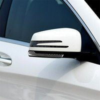 Fibre de carbone avec double support adhésif. Pour Mercedes Benz