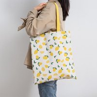Diaper Bags Millet Wheat Fabric Double-sided Dual-use Hand Bag Cotton And Linen Pocket Handbag Shopping Storage Grocery