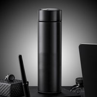 500ml Keep Water Bottle Thermal Thermoses Temperature Display Vacuum Insulated Cup Stainless Steel Travel Coffee Mug Thermos Flask