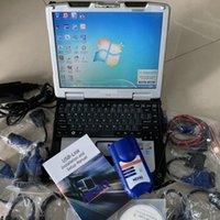 Strumento dello scanner Diagnostico camion 125032 Nexiq Interfaccia USB Link Diesel Diagnosi con tutti gli installatori Laptop CF30 ToubleBook Touch Screen RAM 4G