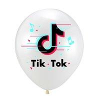 Детский день Тикток буквы напечатаны 12 дюймов воздушный шар аксессуары мода популярное фестиваль вечеринка день рождения домашние воздушные шары украшения G344L9Q