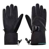 2019 новый PU изолированные теплые зимние лыжные перчатки для мужчин женщин водонепроницаемый дышащий сноуборд перчатки сохраняют теплые прочные спортивные перчатки