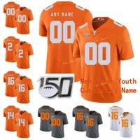 Носители колледжа NCAA добровольцы в колледже Теннесси-добровольцы 15 Jauan Jennings 16 Peyton Manning 19 Darrell Taylor 2 Jarrett Gantrana Custom Phange Shist