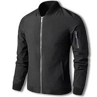 Printemps Moto Veste Hommes Mens Biker Mâle Streetwear Hip Hip Hop Fit Fit Pilote Manteau Vêtements Grande taille 6XL Vestes d'hommes