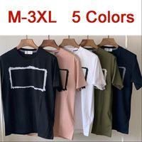 디자이너 남자 티셔츠 2NS80 작은 패치 망 티셔츠 여름 패션 브랜드 클래식 반팔 티셔츠 M-3XL