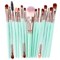 Makeup Pinsels 15 Stück / Set Professionelle Weibliche Bürste Augenbraue Highlighter Foundation Lidschatten Schönheit Künstler Praktisch