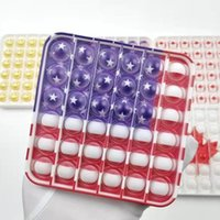 Go Bang Silicone Rodent Pioneer American Flag Children's Puzzle Mental Arithmetic Board Game Interactive Decompression Toy