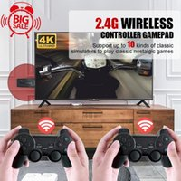 Game Controllers & Joysticks Video Consoles 4K HD 2.4G Wireless 10000 Games 32 64GB Retro Mini Classic Gaming Gamepads TV Family Controller