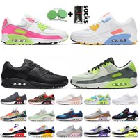 nike air max 90 max air 90 air airmax 90 2020 أزياء المرأة الرجال الاحذية أعلى جودة وسائد احذية UNC ديو كامو لندن OG فولت نوفا الرياضة المدربين وفاز بالمركز الثاني أحذية
