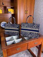 Dior shopping bag MS Shopping Taschen klassische Mode Stickerei Taschen Handtasche Frauen Umhängetasche Große Kapazität Schöner Einkaufstasche Preis
