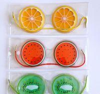 2hfgcold quente gel olho sono máscara tampa pacote de frutas frescas calmante olhos cansados olhos de dor de cabeça pad DHL grátis