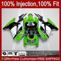 Kawasaki Ninja ZX250R EX250 공장 녹색 2009 2009 2011 2011 년 13hc.12 EX250R ZX-250R ZX250 ZX 250R 08 09 10 11 12 페어링
