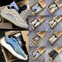 500 700 Kanye West Casual Koşu Ayakkabıları Yeezy Yeezys V2 V3 Boost Sneakers Enflege Amber Güneş Kremi Kyanite Arzaret Allık Yardımcı Programı Black Mens Womens Eğitmenler
