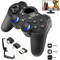 2.4 G Controller Gamepad Android Wireless Joystick Joypad with OTG Converter For PS3 Smart Phone For Tablet PC Smart TV Box 210317