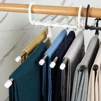 5 in 1 Multifunktionshose Lagergestell Einstellbare Hosen Krawatte Regal Closet Organizer Edelstahl Kleiderbügel RRA4330